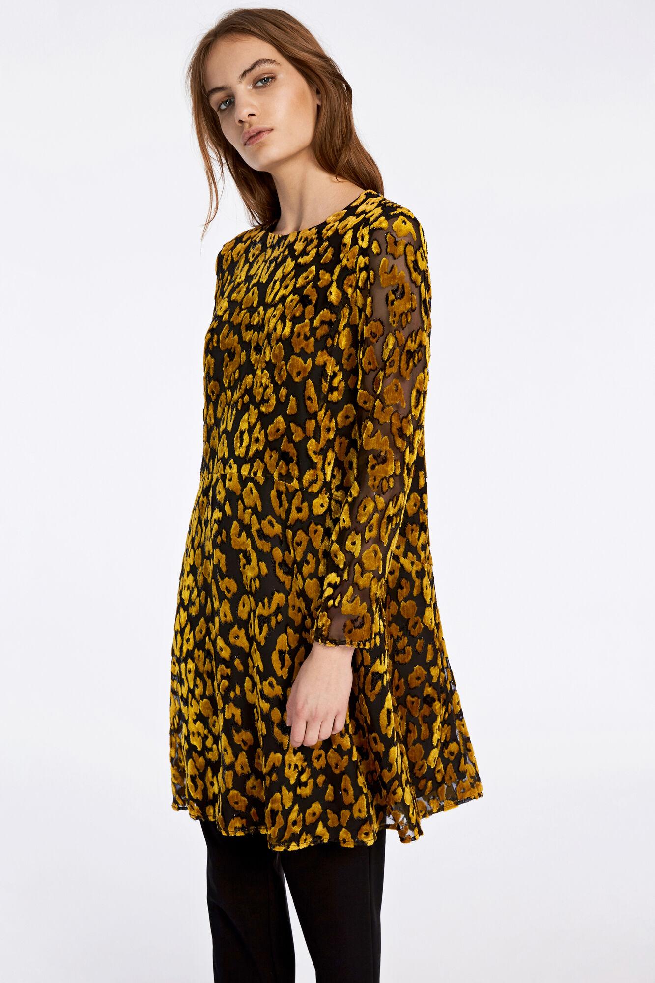 Kayla ls dress 9308, GOLDEN ROD