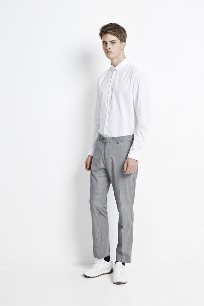 Laurent pants 7629, LIGHT GREY