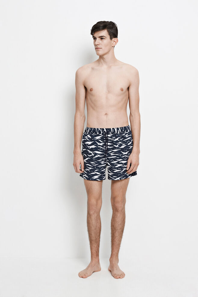 Mason swim shorts aop 6956, BLUE MONSUN AOP