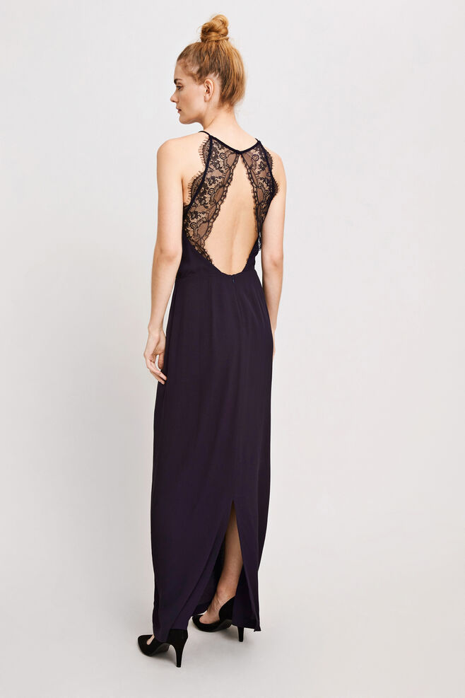 Willow dress long 5687, TOTAL ECLIPSE