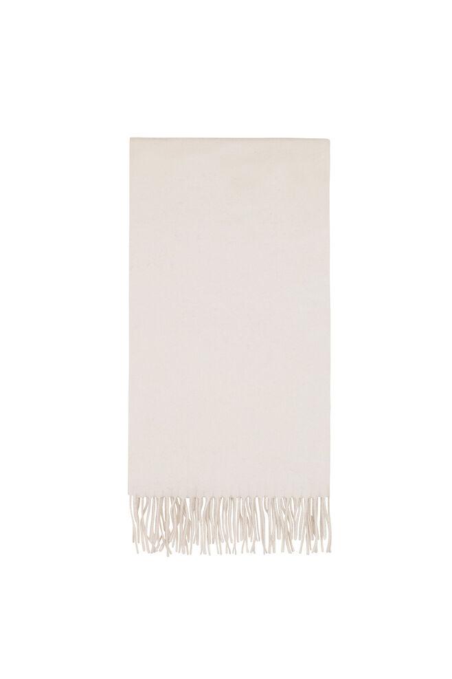 Accola maxi scarf 2862, WHITE SAND