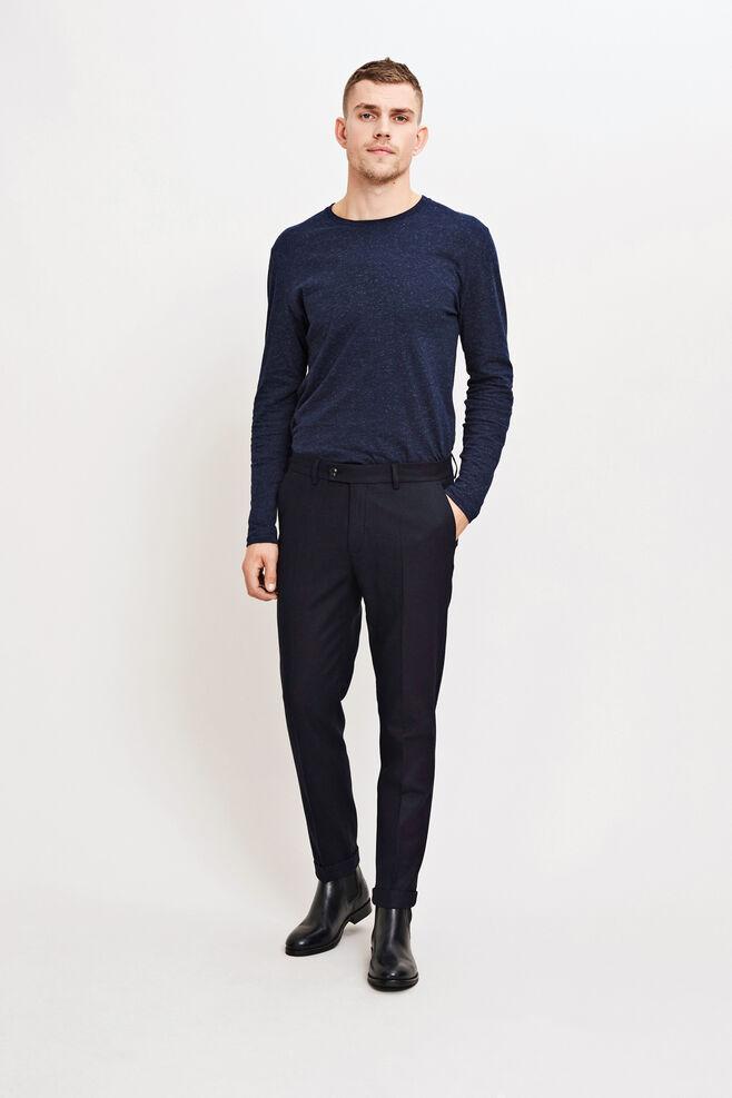 Laurent pants fold up 7390, TOTAL ECLIPSE