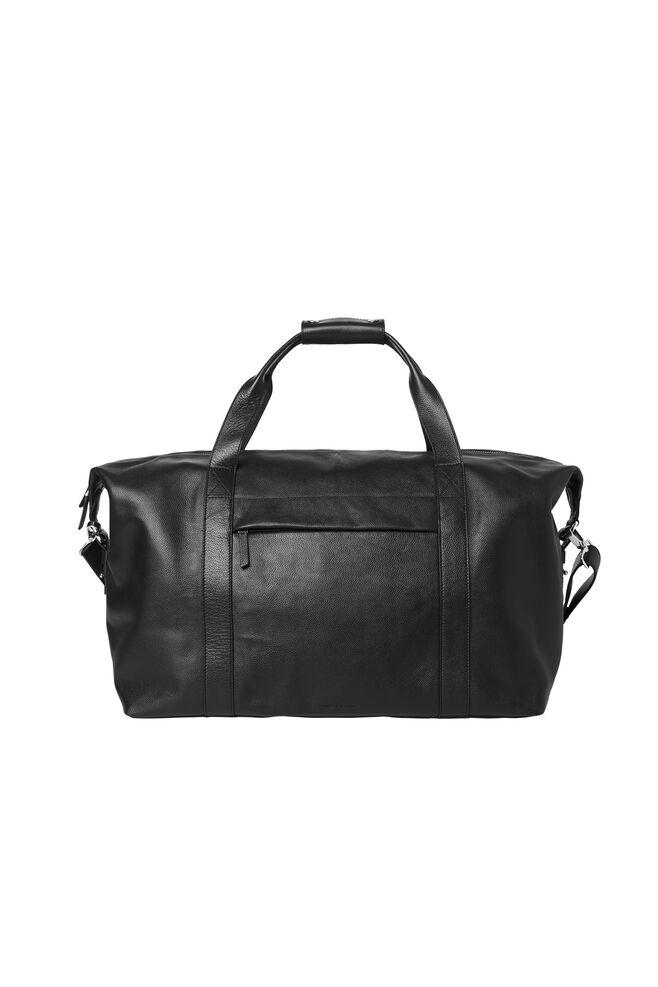 Monty weekend bag 3338, BLACK