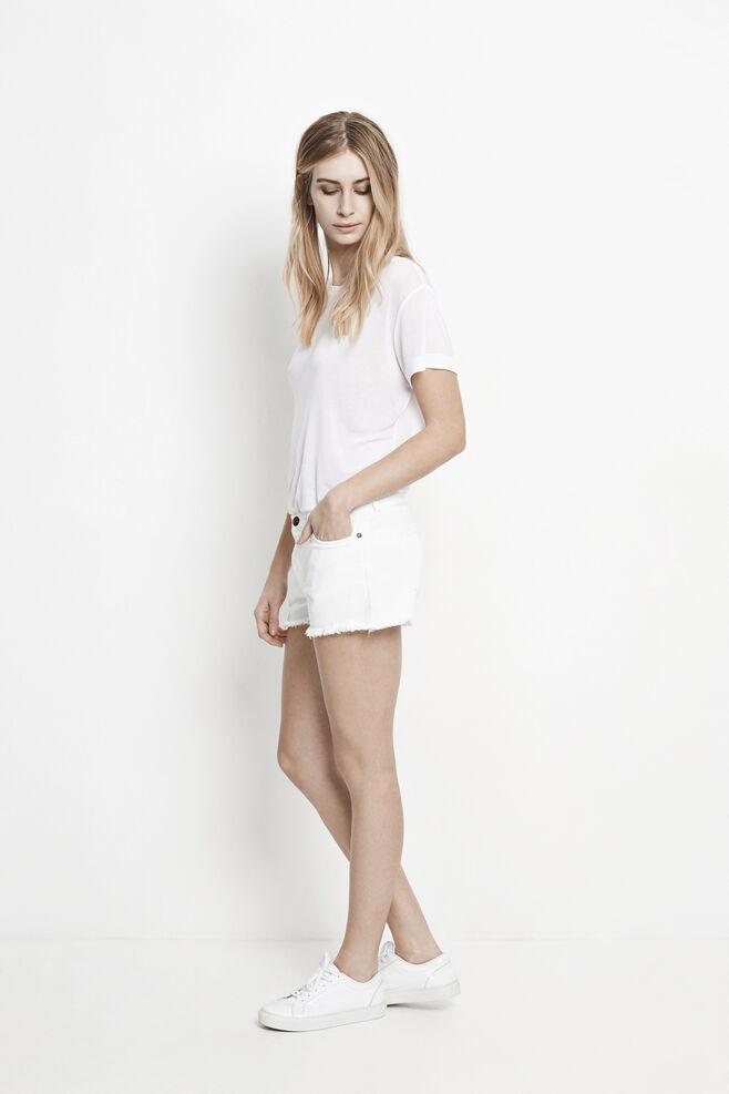 Miley Shorts 8095, WHITE RAW