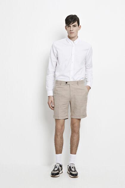 Laurent shorts 7991, VINTAGE KHAKI