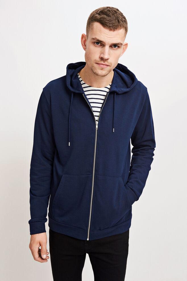 Enno zip hoodie 7057, TOTAL ECLIPSE