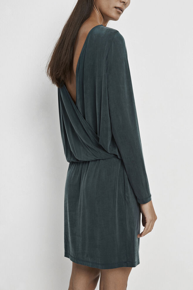 Malia dress 6202, DARKEST SPRUCE