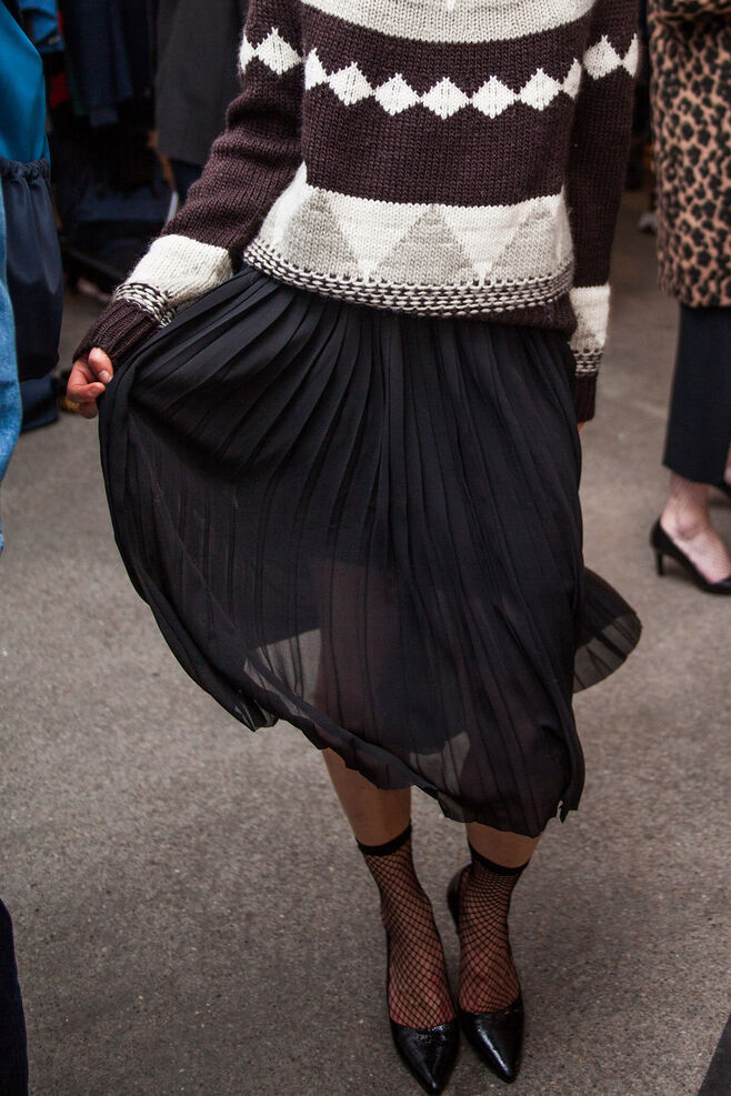 Roxanne skirt 6621, BLACK