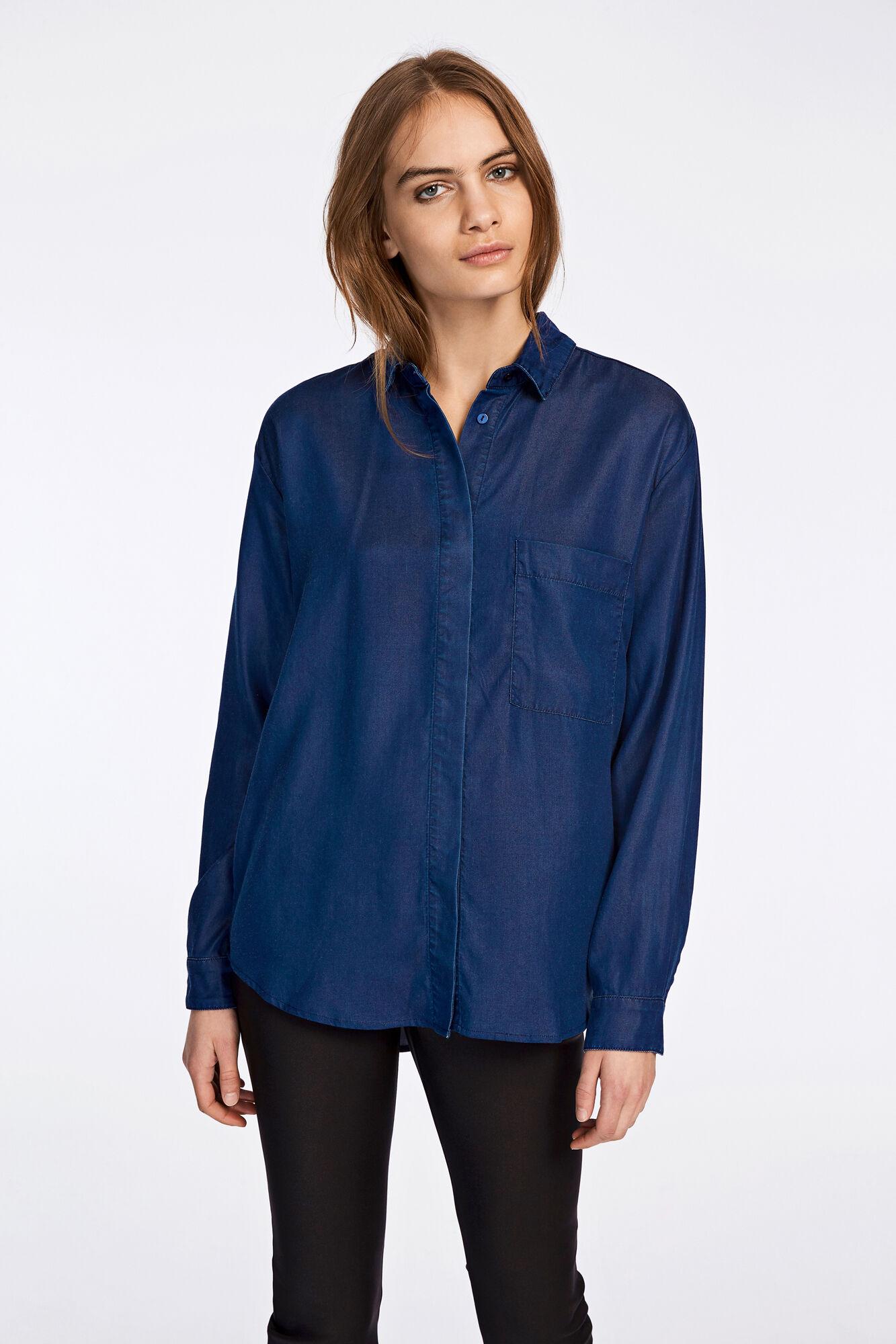 Majse shirt 9313, DARK SAPPHIRE