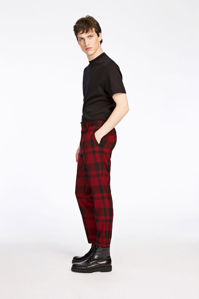 Laurent crop pants 7168, HIGH RISK RED