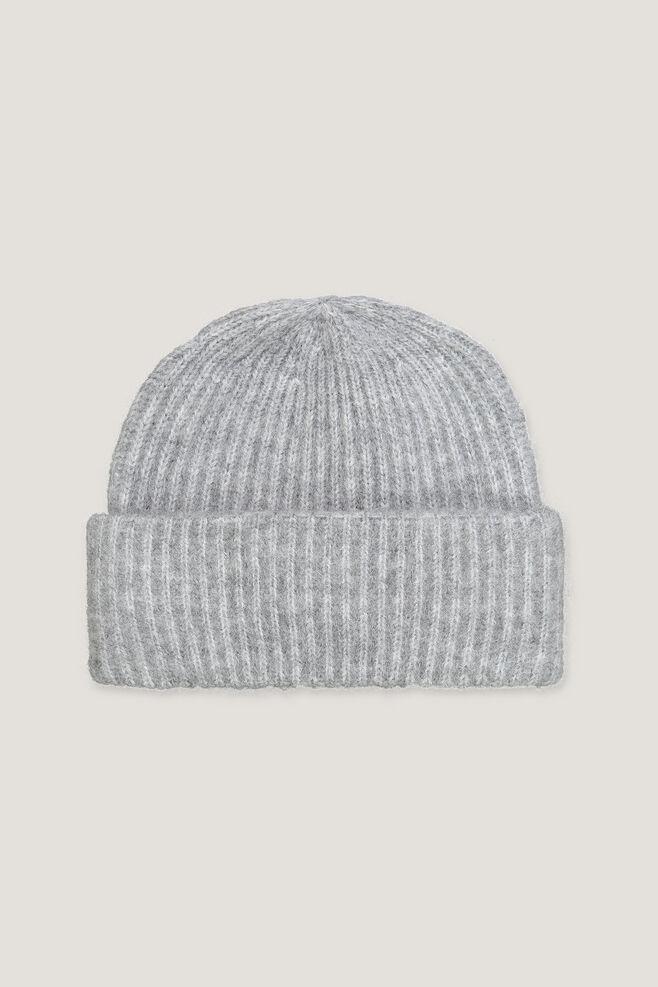 Banky hat 9595, GREY MEL.