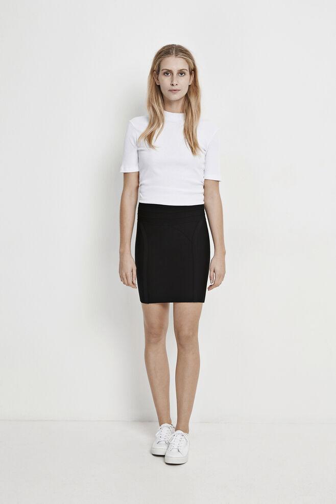 Manola skirt 8106, BLACK
