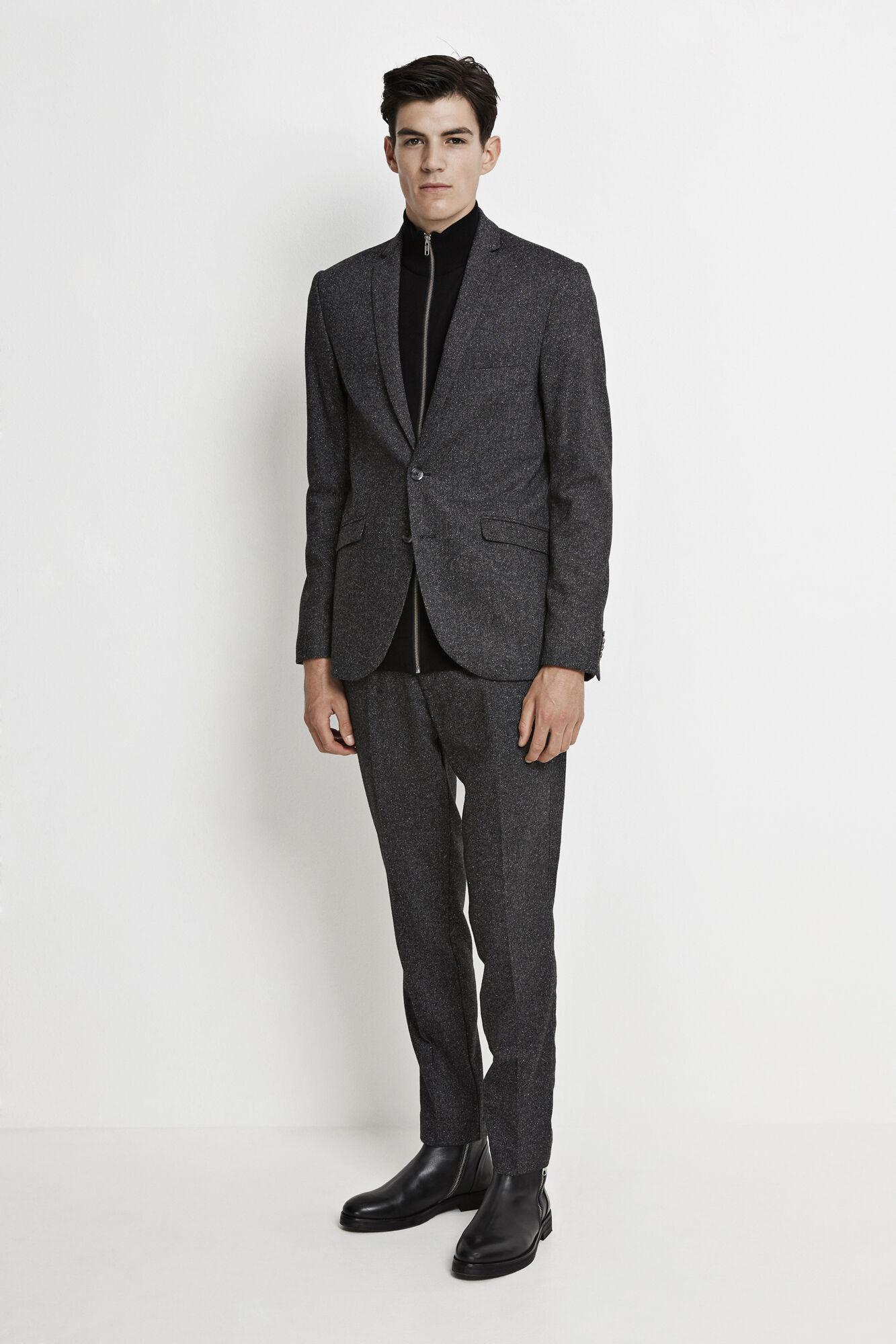 Louis A blazer 7399, GREY MEL.