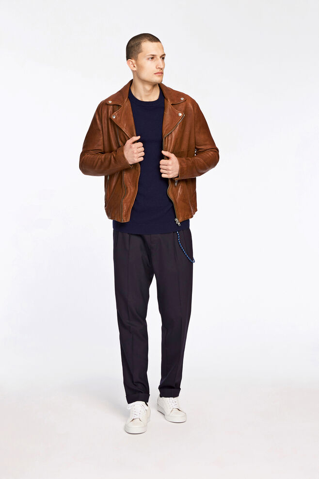 MC jacket 9326, BROWN