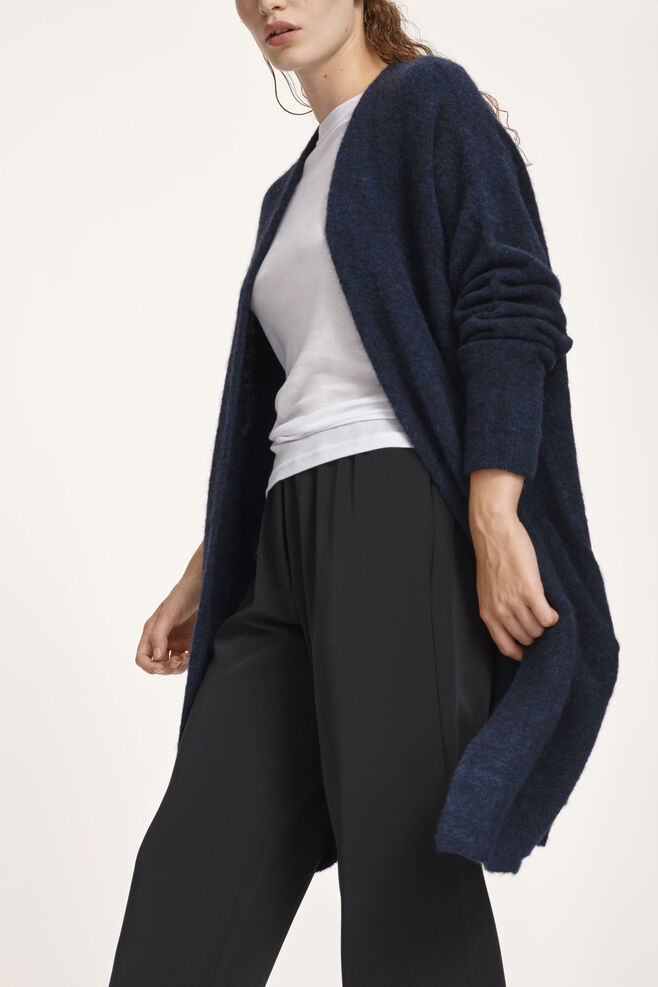 Nor cardigan 7355, DARK BLUE MEL.