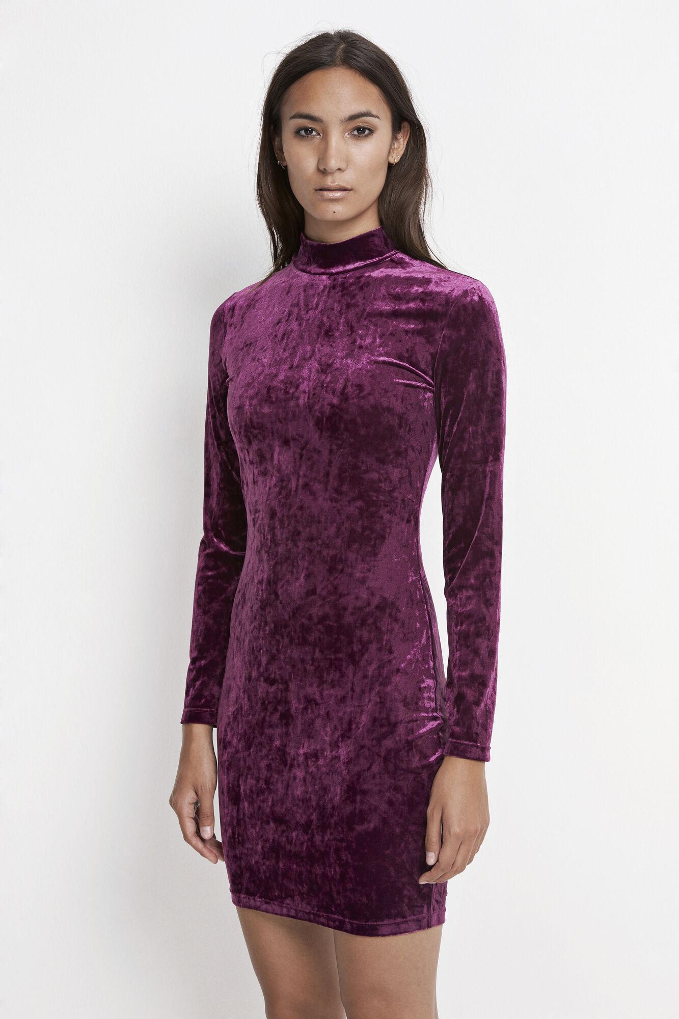 Viol ls dress 7551, DARK PURPLE