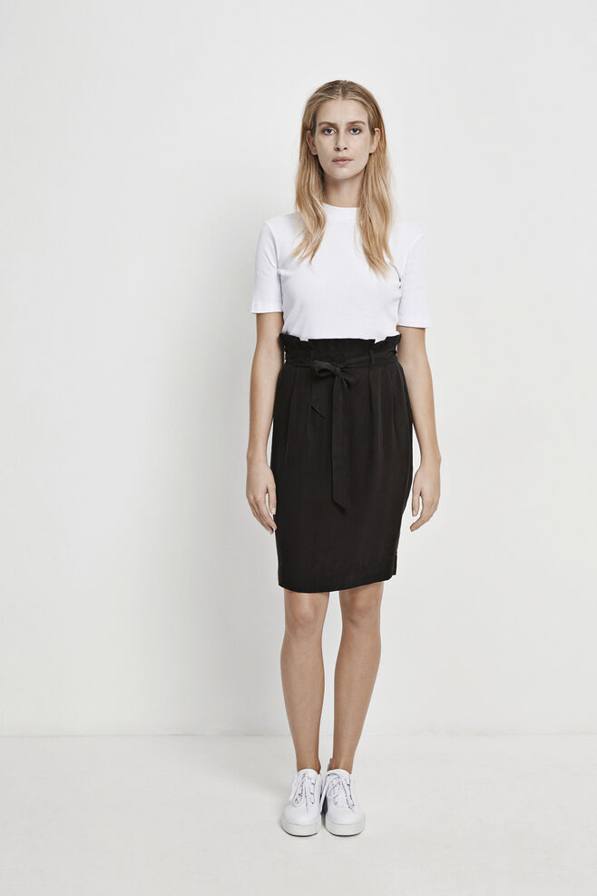 Yael skirt 7876, BLACK