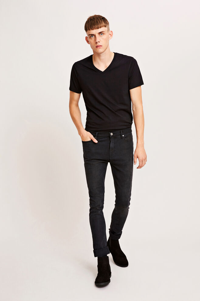 Marian male v-neck basic 273, BLACK