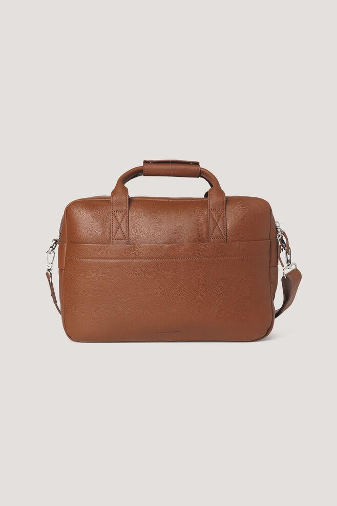 Miro briefcase double 3338, COGNAC