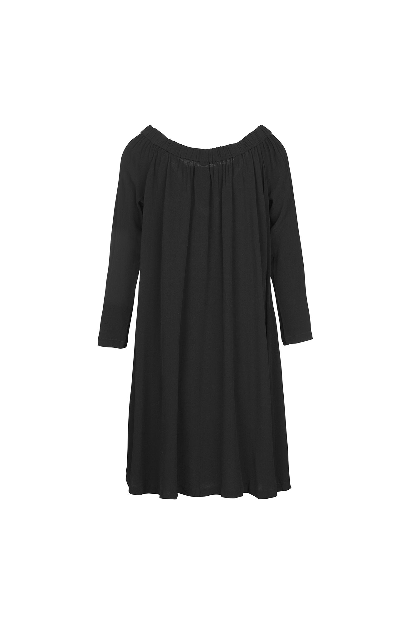 Ava ls dress 5687, BLACK