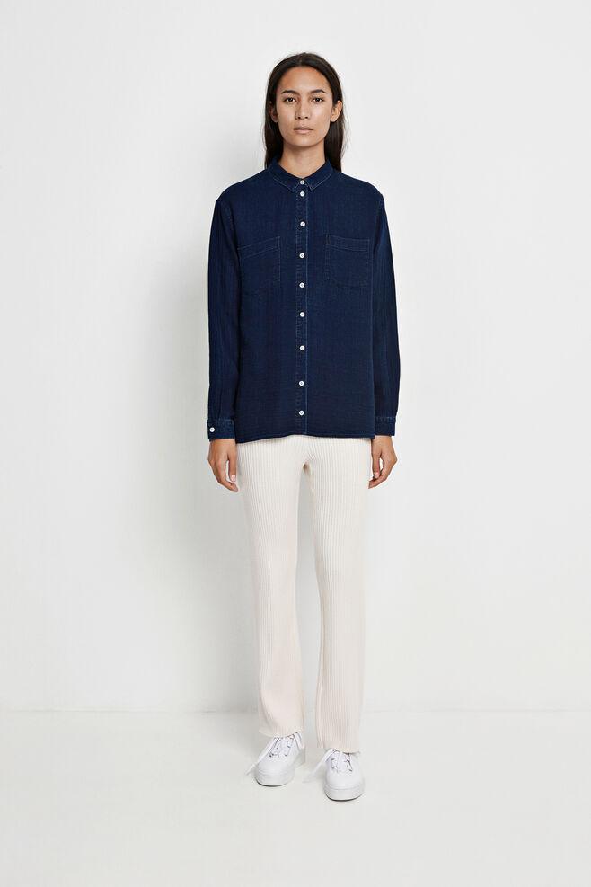 Auclair shirt 7749, INDIGO RINSE