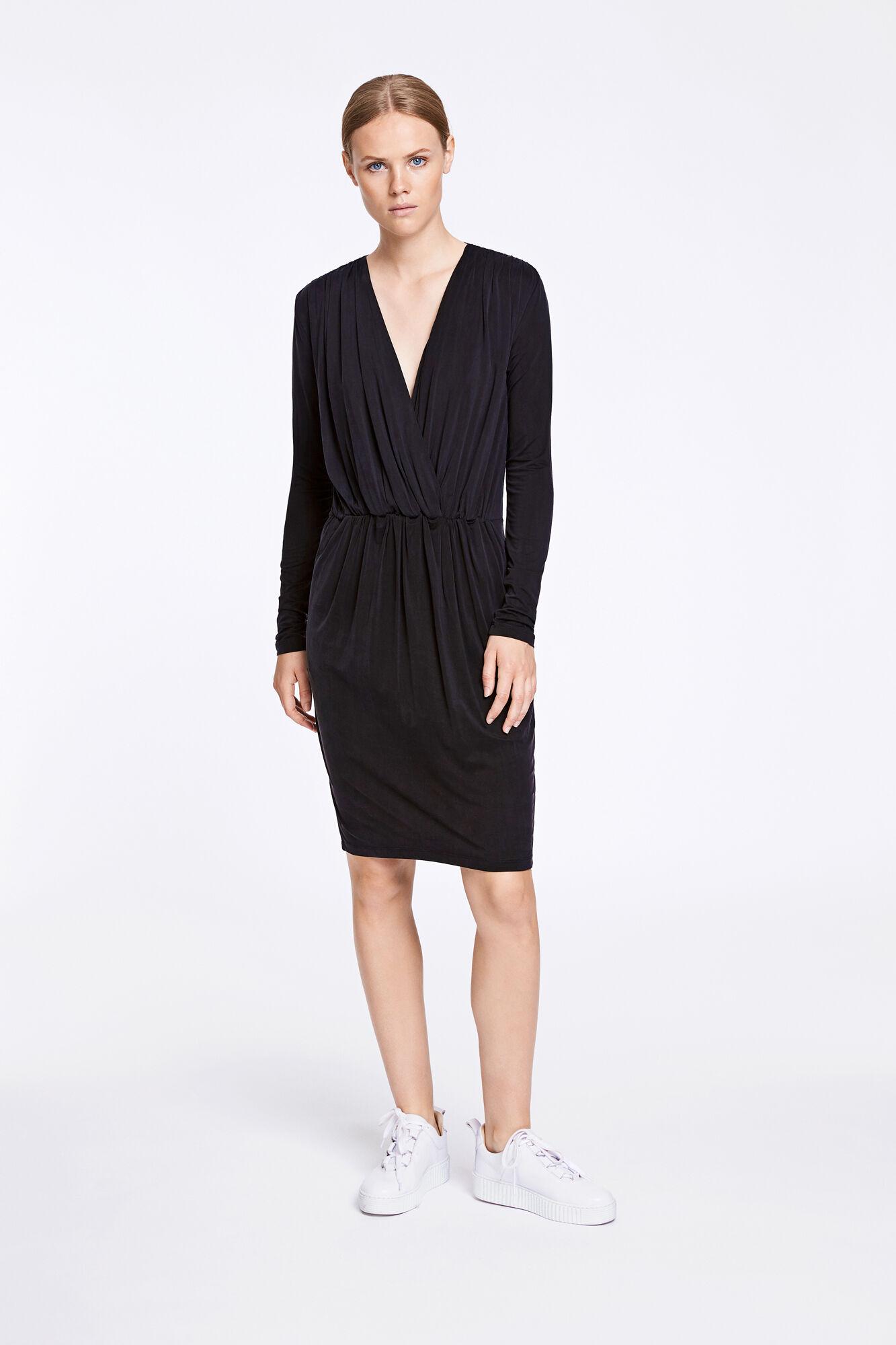 Trinny v-n dress 6202, BLACK