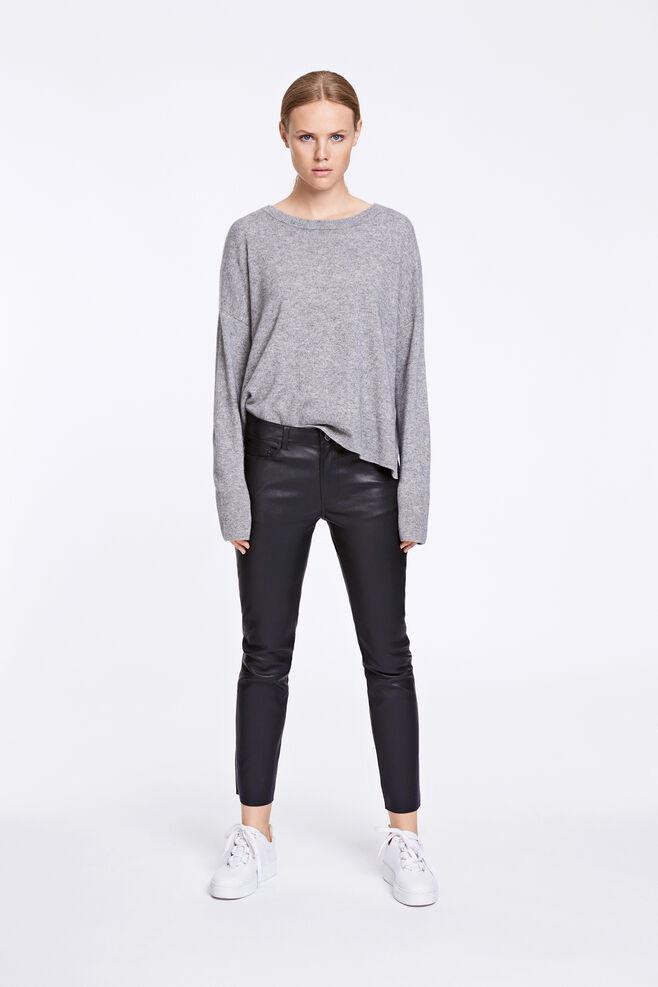 Lana pants 2169, BLACK