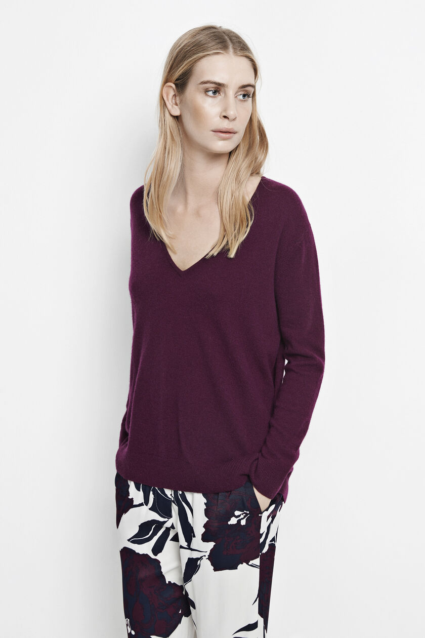 Boston v-neck 6304, POTENT PURPLE