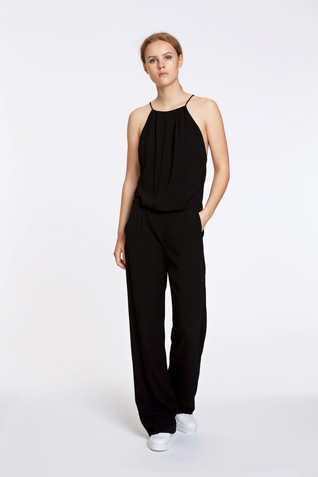 Willow jumpsuit 5687, BLACK