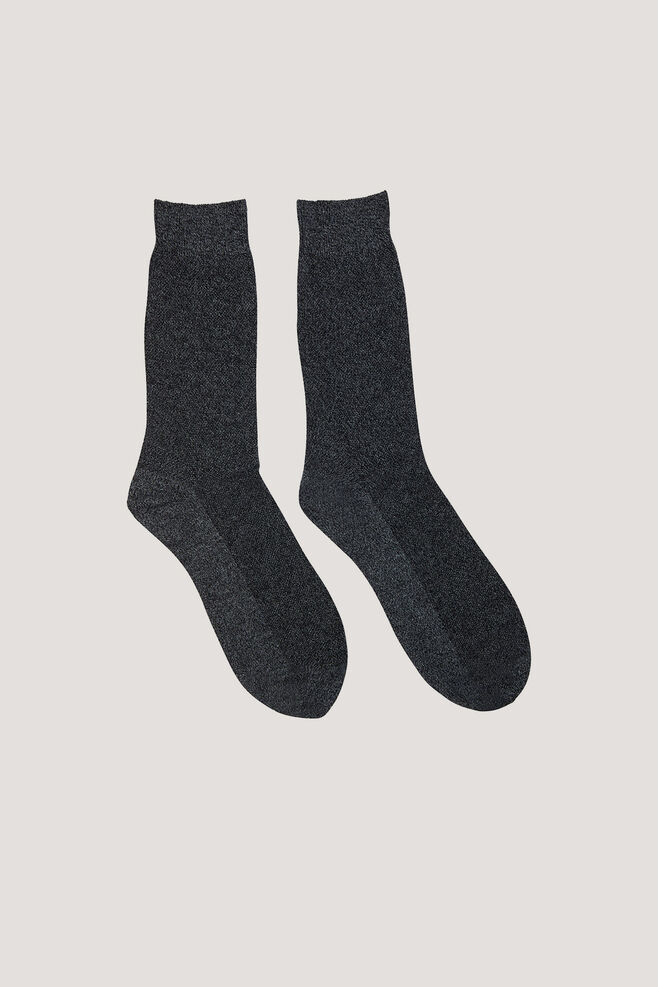 Step socks 7106, GREY MEL.