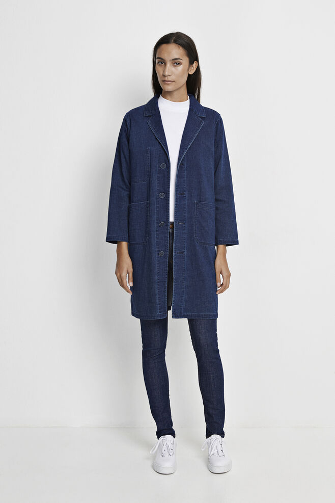 Chore Coat 7748, INDIGO RINSE