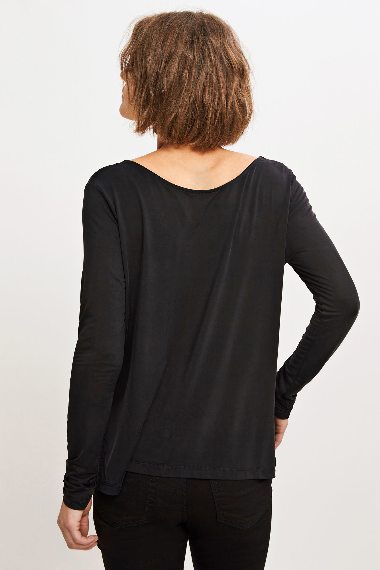 Dahlia blouse 6202, BLACK