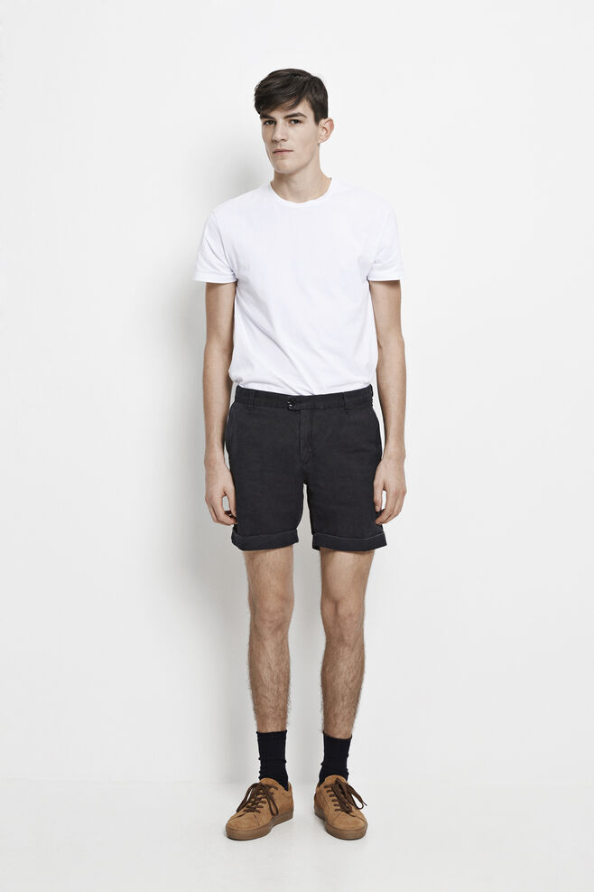 Laurent shorts 8090, BLACK WASH