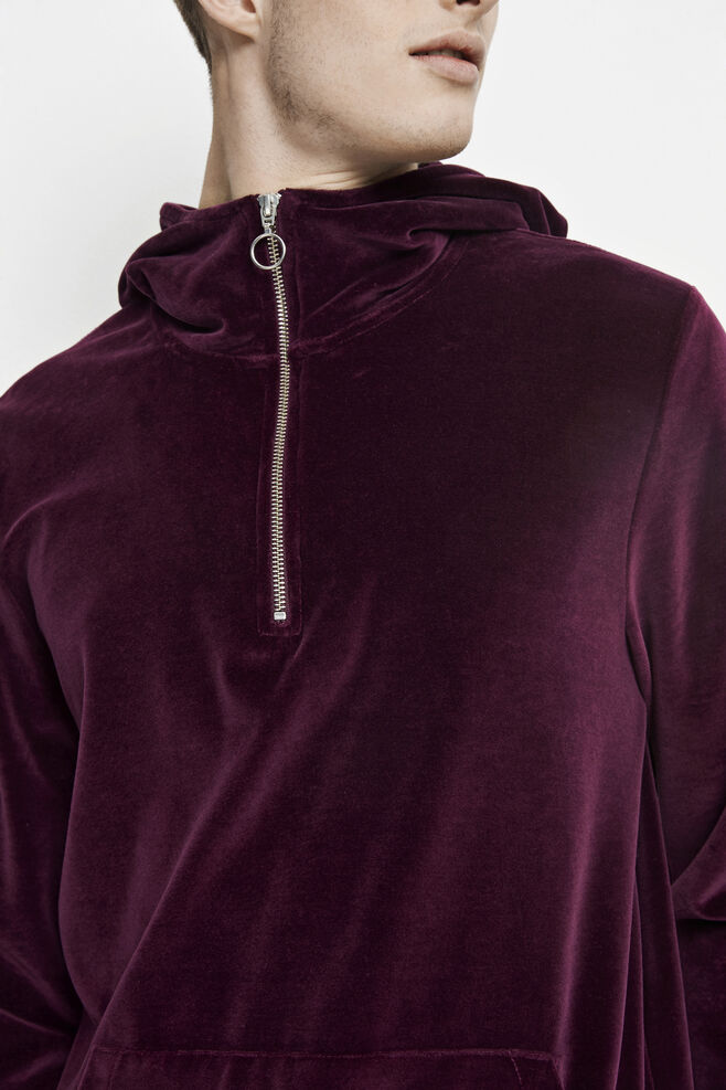Alfonso hoodie 7930, POTENT PURPLE