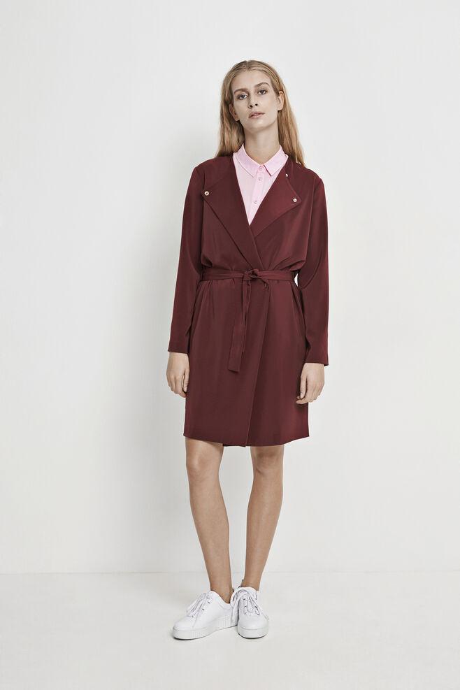 Ria Long jacket 5830, WINDSOR WINE