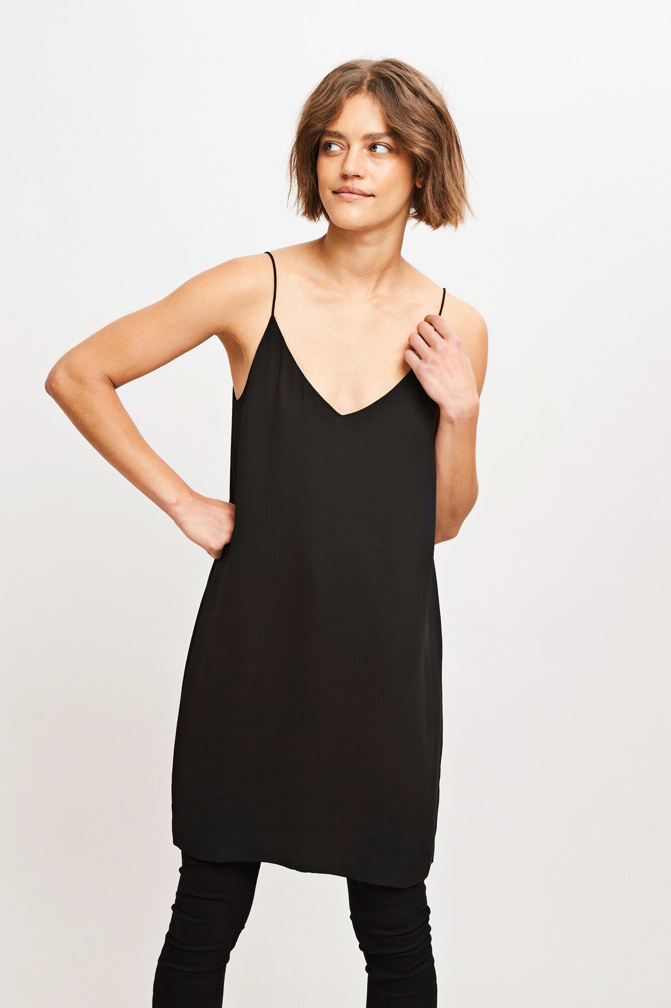 Mano dress 3974, BLACK