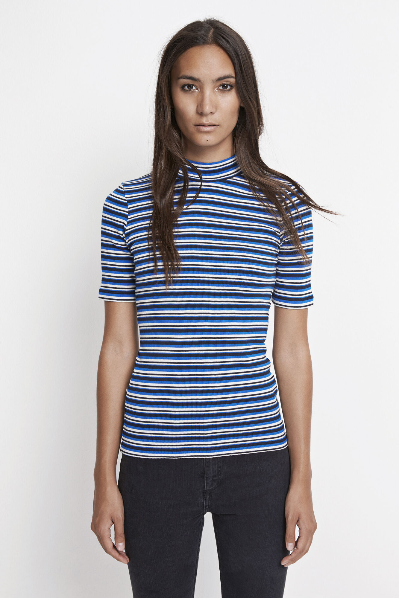 Neval ss stripe 6384, BLUE TURTLE MULTI ST