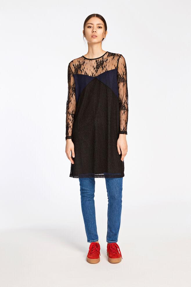 Camilla ls dress 9311, BLACK