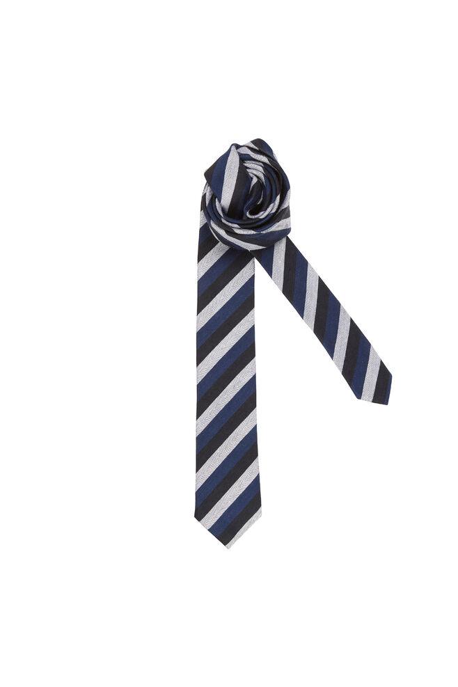 Henning tie 7807, BLUE STRIPE