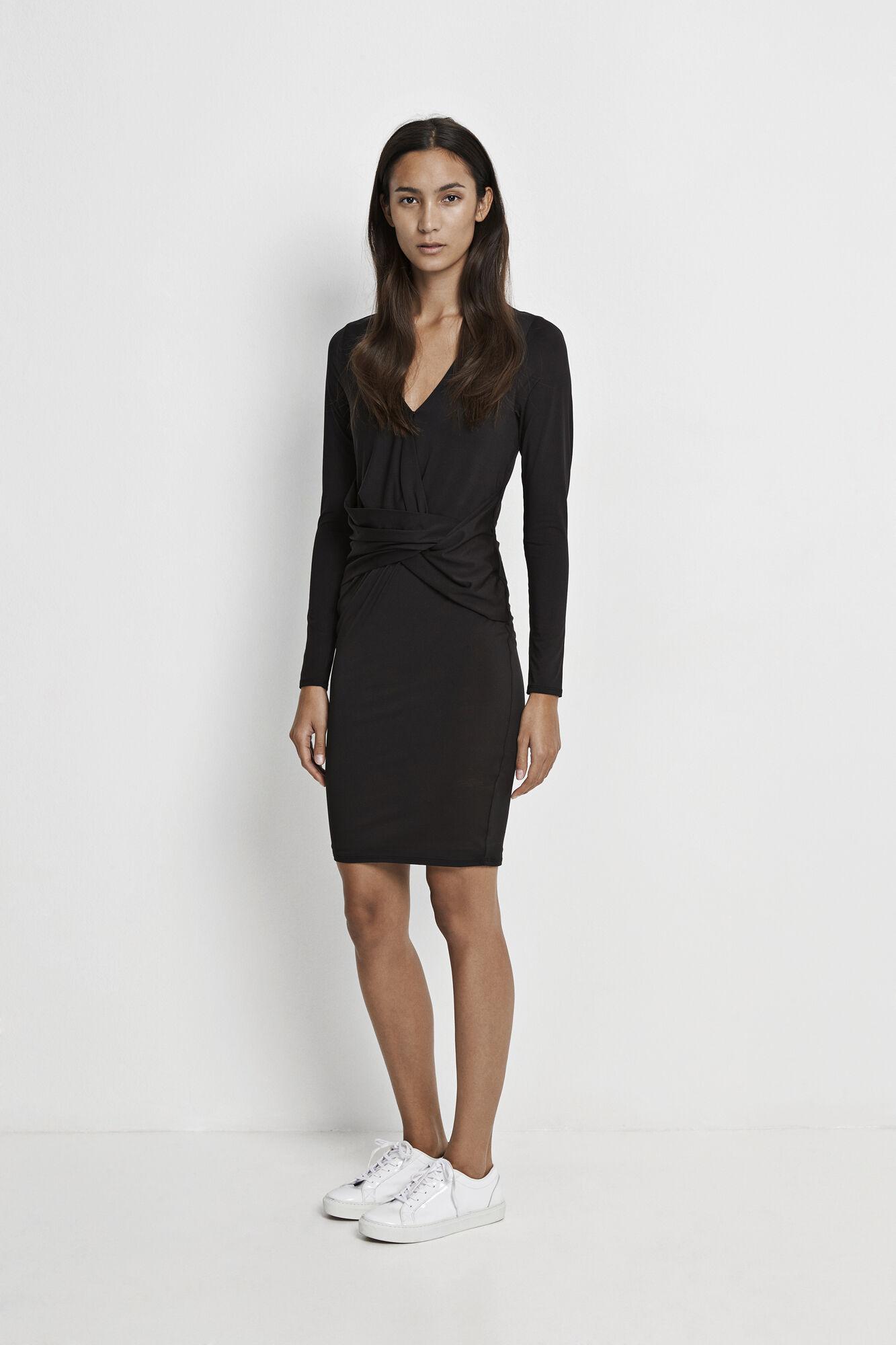 Erika dress 8108, BLACK