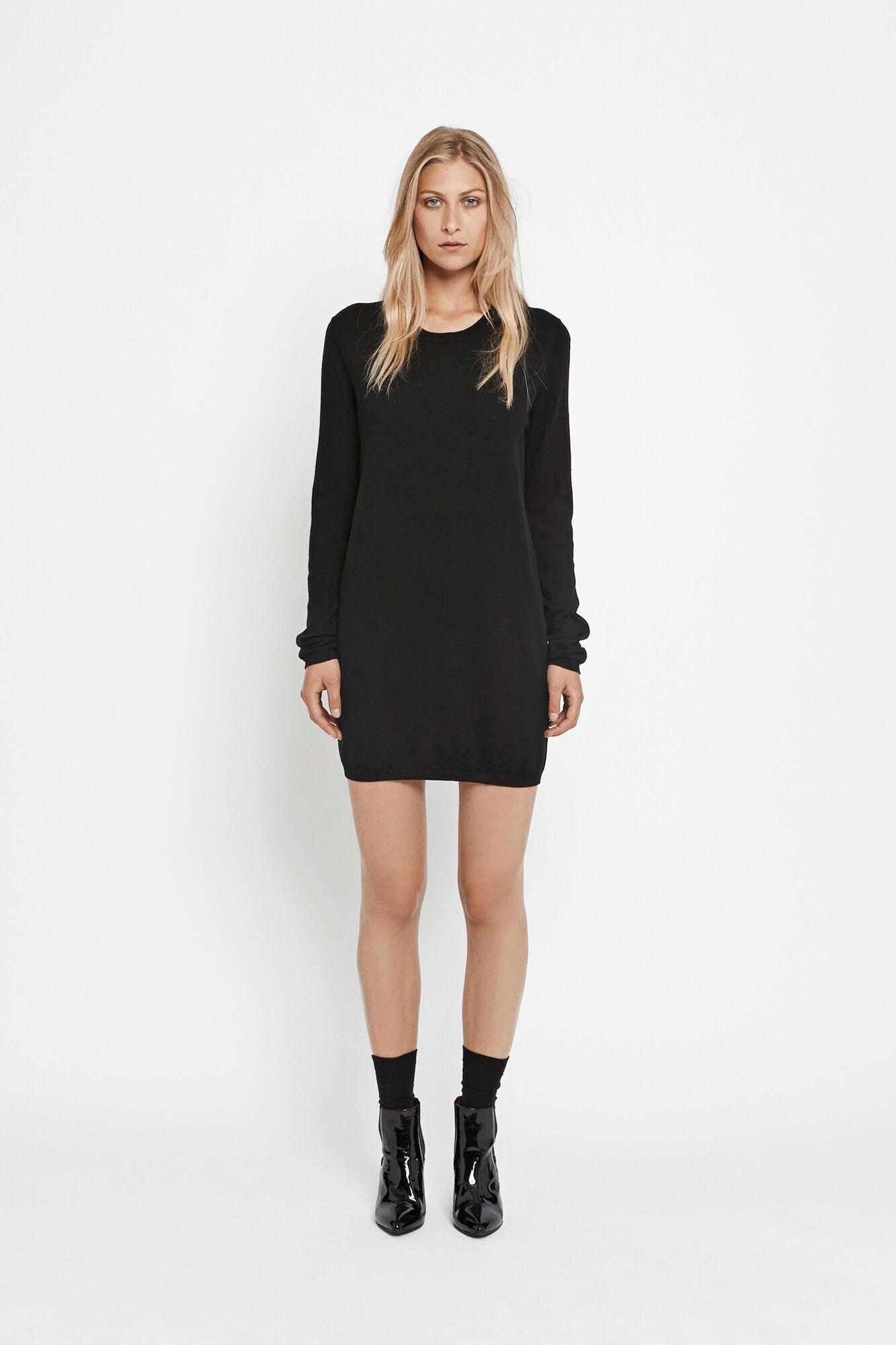 Sanella dress 3111, BLACK