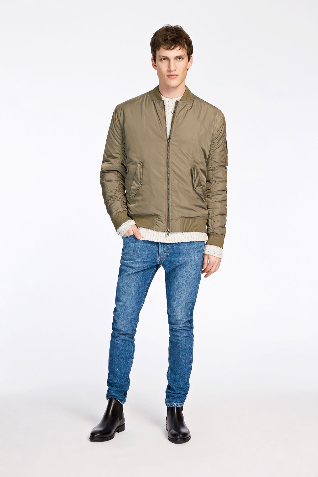 Alfred jacket 7457, DUSTY OLIVE