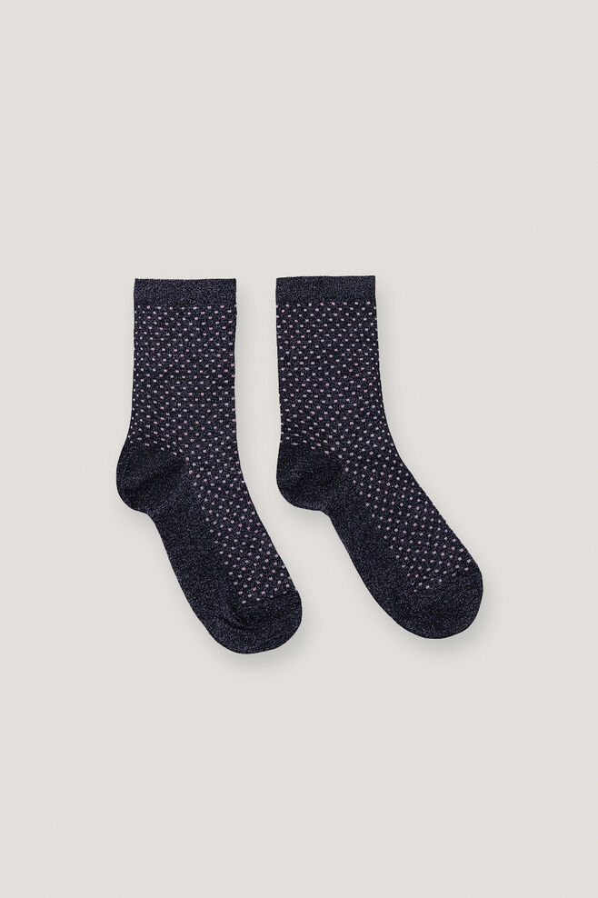 Rosea socks 9849, BLACK