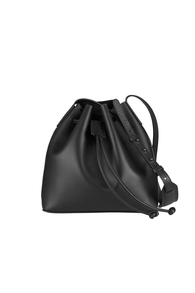 Gemini Bucket Bag 3338, BLACK