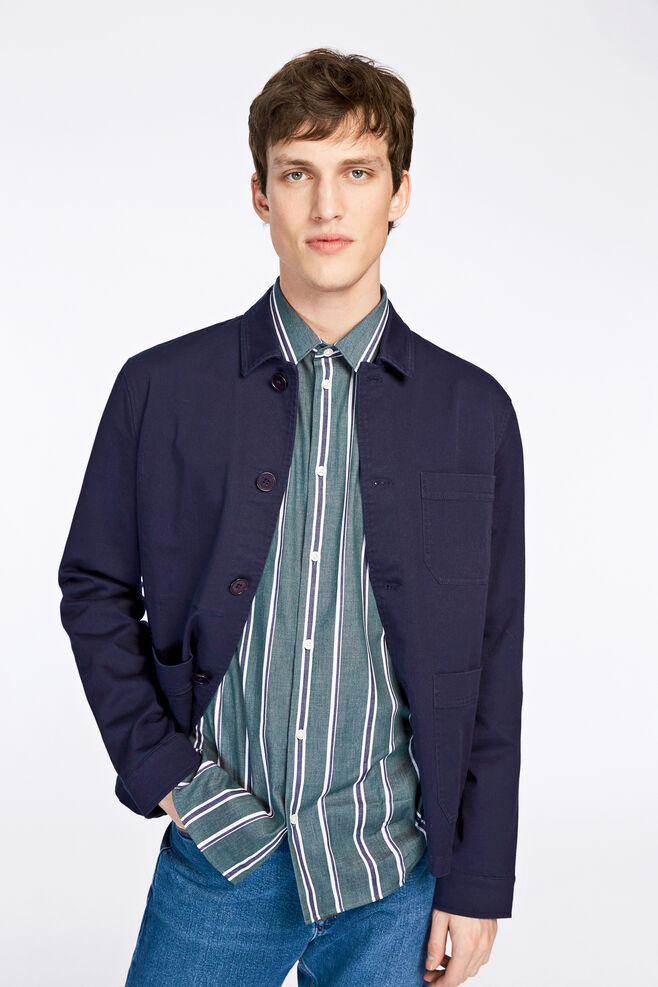 Worker jacket 8199, DARK SAPPHIRE