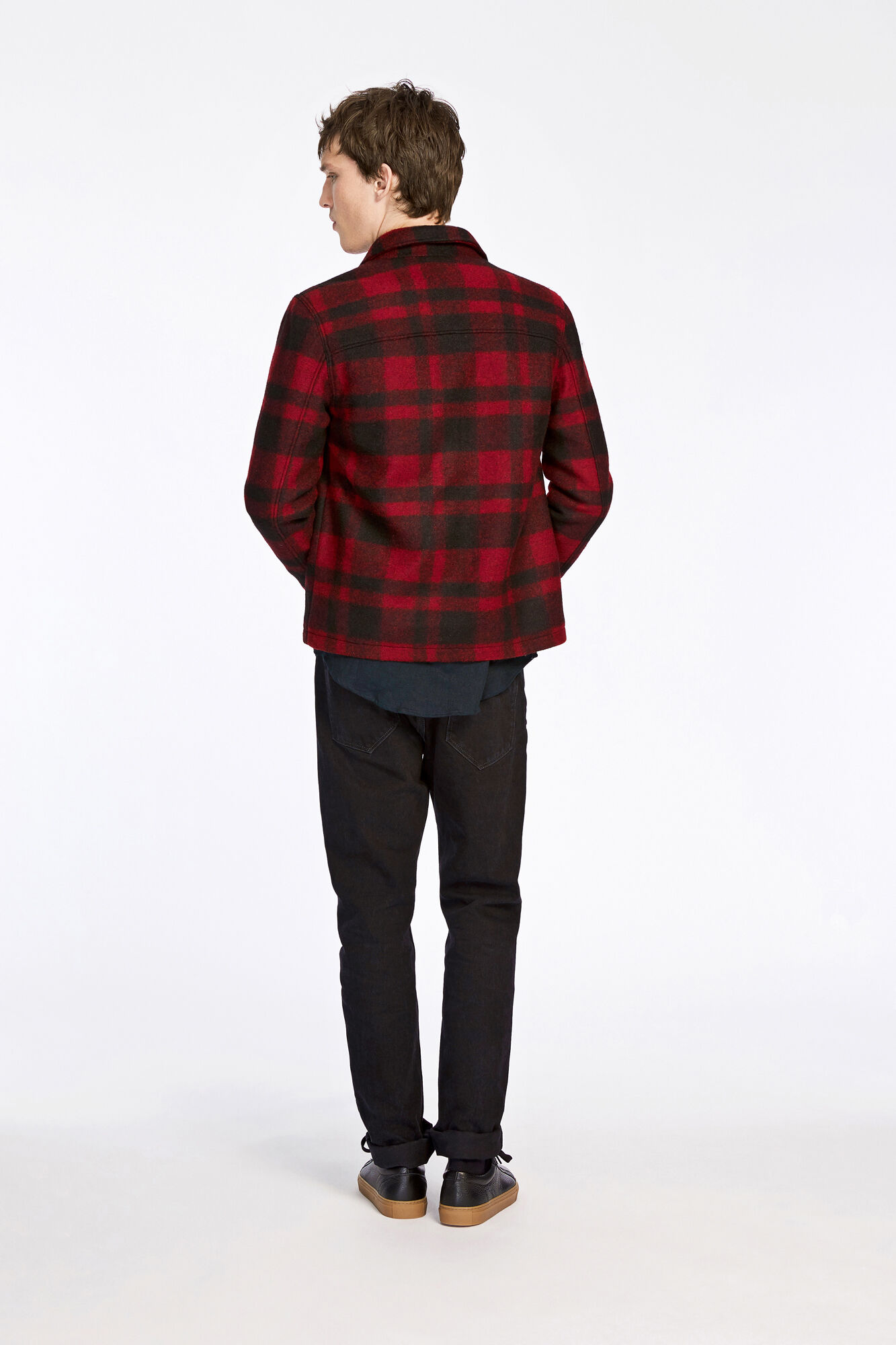 Madmax jacket 8225, HIGH RISK RED