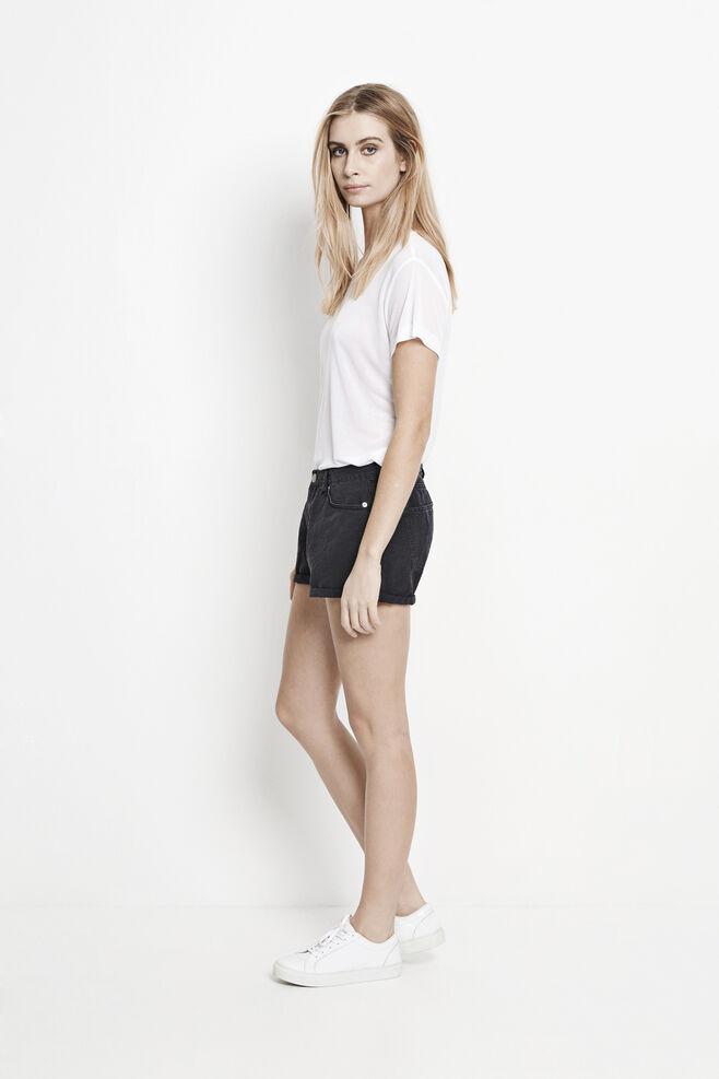 Miley Shorts 8090, BLACK WASH