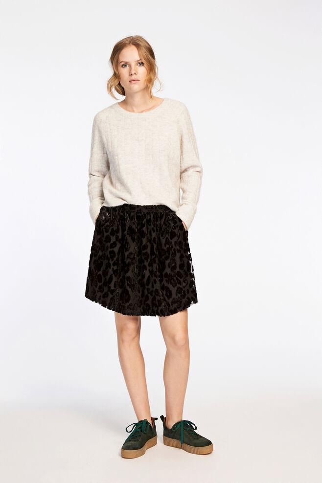 Kayla skirt 9308, BLACK