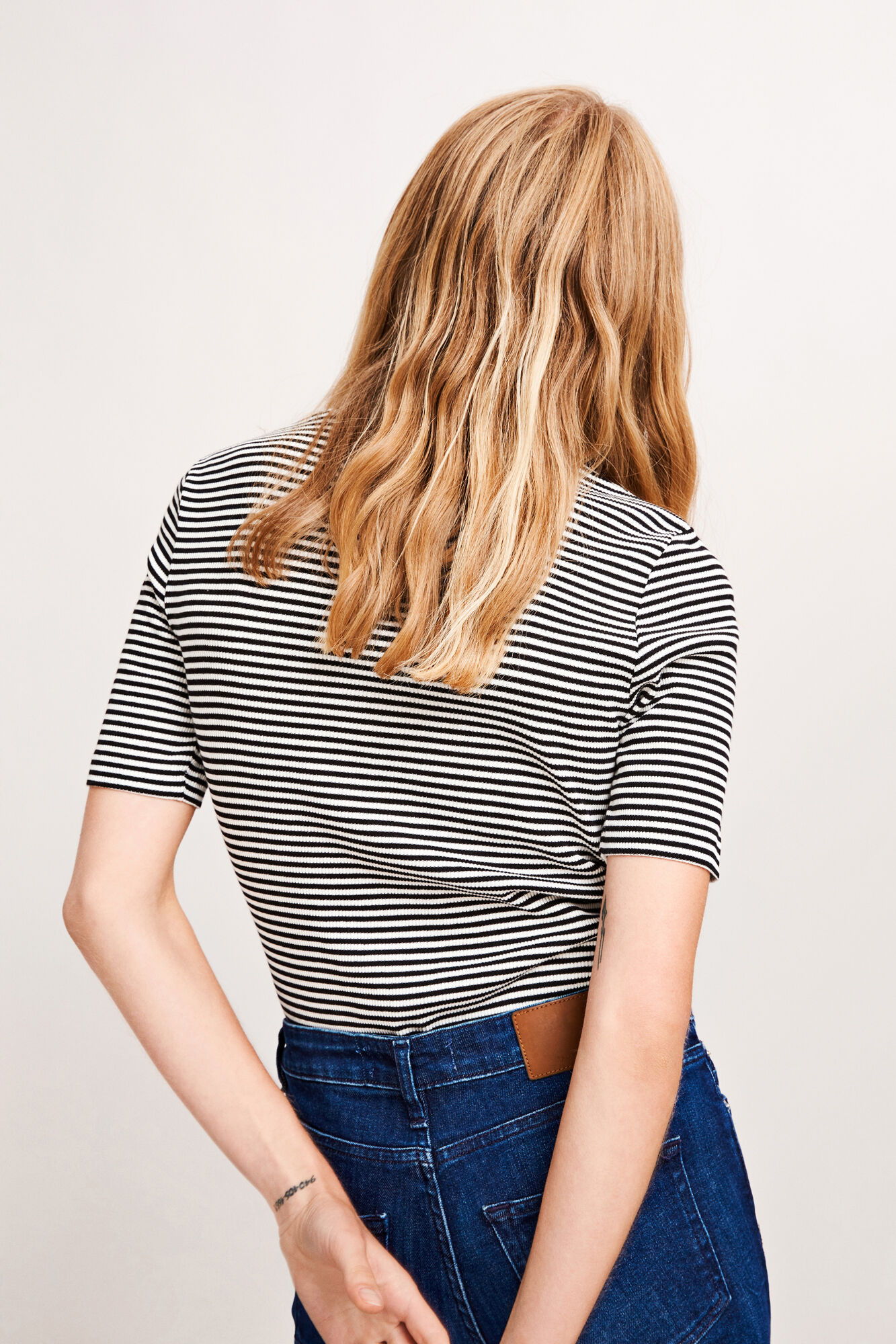 Neval ss stripe 6384, BLACK STRIPE