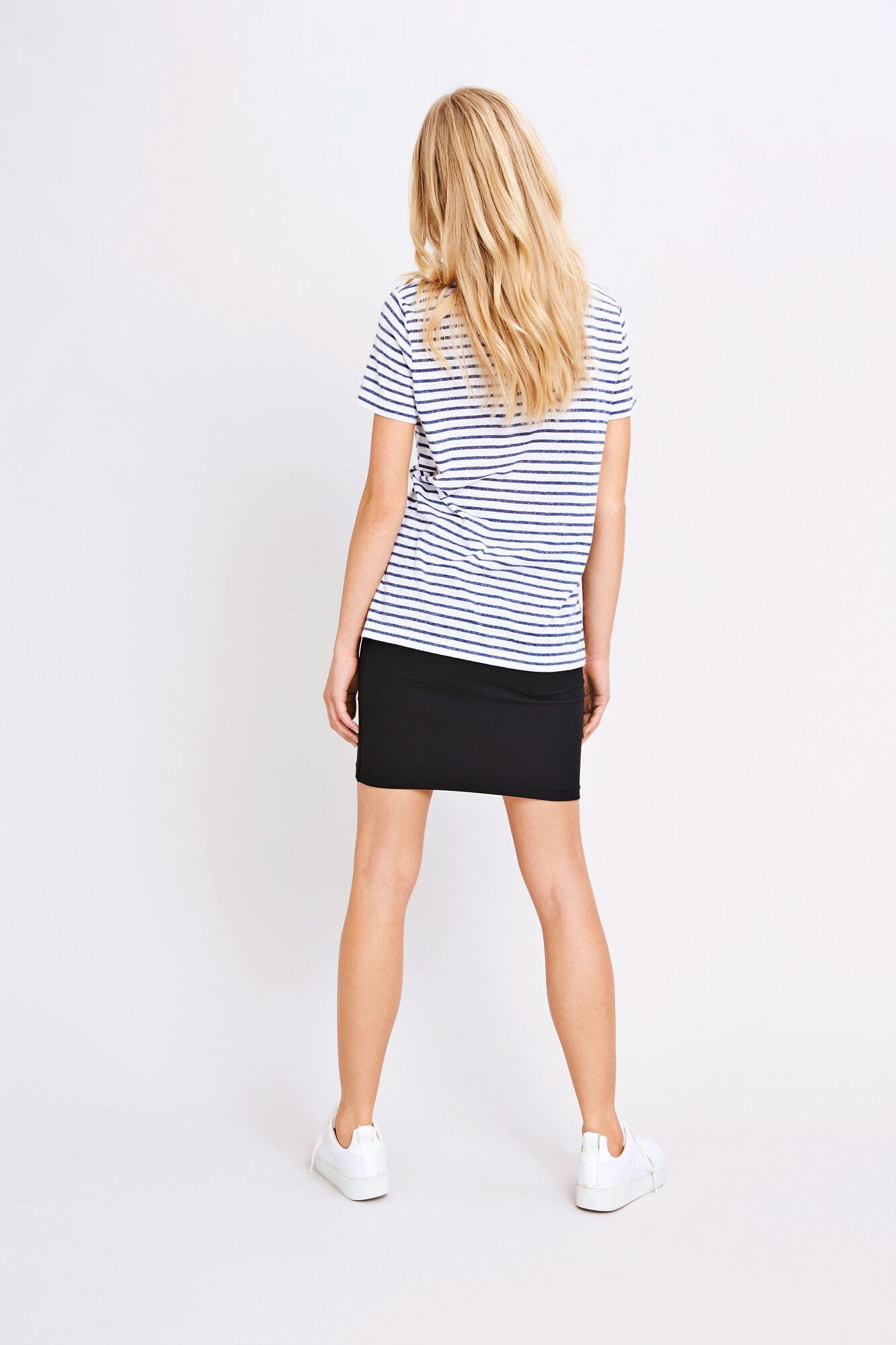 Nobel tee stripe 3173, 3173 BLUE STRIPE